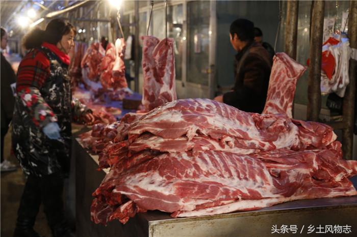 春节大集稀罕物便宜到不敢想象,10元猪下货你敢买么?看看还有啥
