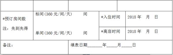 注:请于2018年3月10日前将参会报名回执单发至vipzhuwangcc@163.com。
