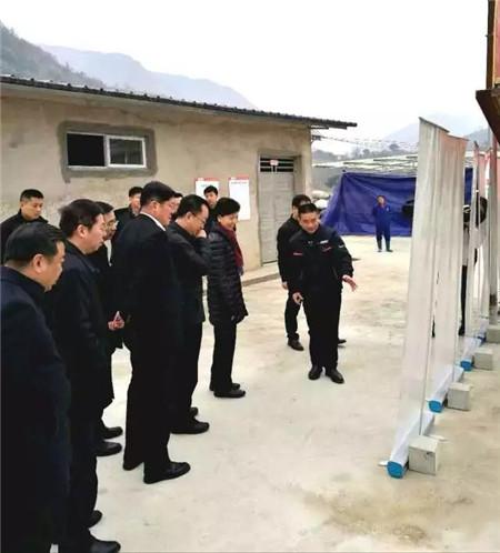贵州省省长谌贻琴第三次到访镇宁德康家庭农场
