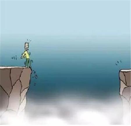 跳过来吧!(一幅改变无数人命运的漫画)