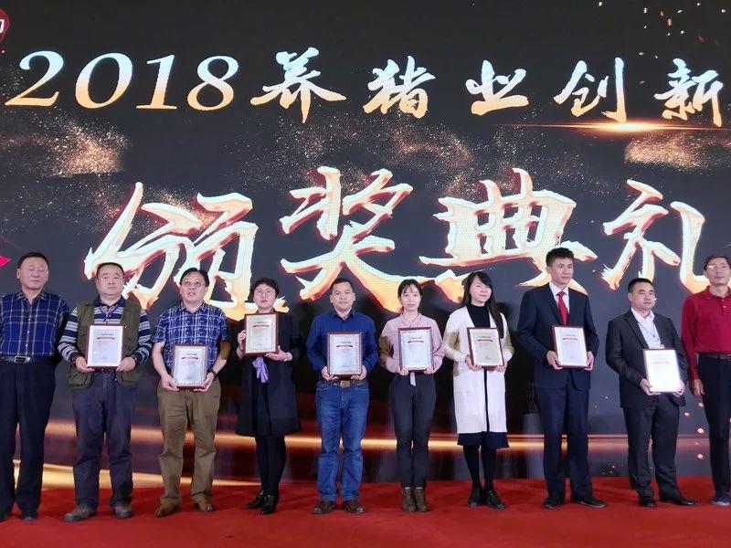"""拿奖拿到手软!扬翔喜获2018年度""""中国养猪业技术创新奖""""!"""
