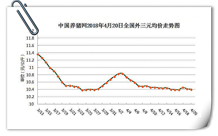 04月20日猪评:震荡期持续,猪价陷入上涨困难僵局!