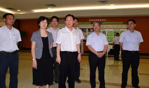 【企业快闻】广西自治区党委统战部徐绍川到扬翔公司调研