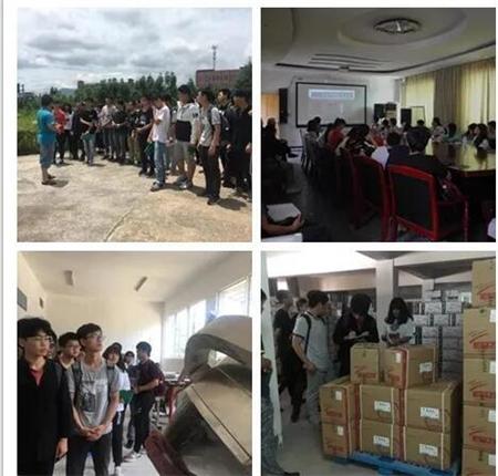 湖南农业大学动物医学院药学专业学生来我司学习!