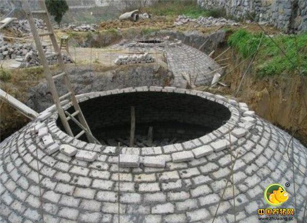 后期猪粪的处理也很麻烦,大点的养猪场会自己建造沼气池来处理。一个沼气池也要上百万。