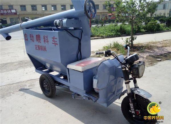 散户专属:小型电动猪用喂料车,设备不大,功能也很强!