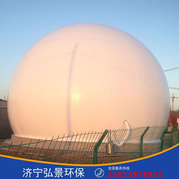 废气收集处理设备一套多少钱500立方双膜气柜厂家售价