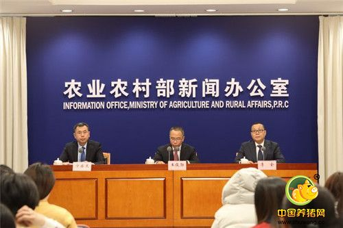 农业农村部就11月份生猪生产形势有关情况 举行例行新闻发布会