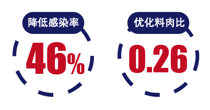 全防衛强并亢,大幅降低46.67%感染率!