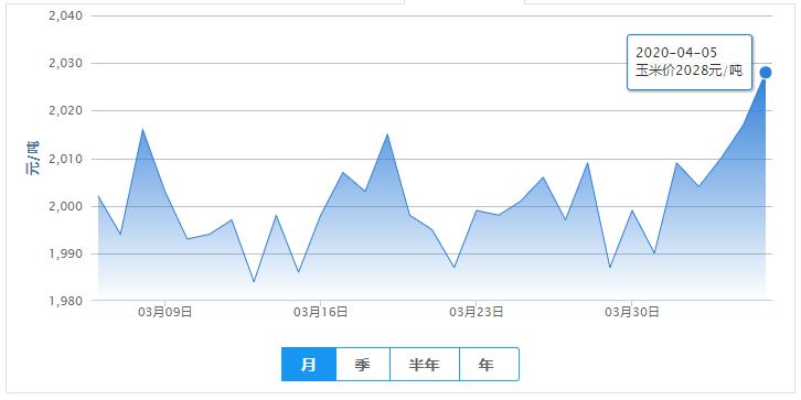 4月5日饲料【大涨】——最新饲料原料报价(豆粕价格、玉米价格)