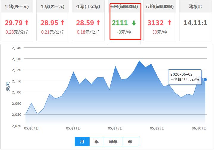 6月2日饲料原料:行情扭转!豆粕大涨30元,玉米价格偏弱运行!