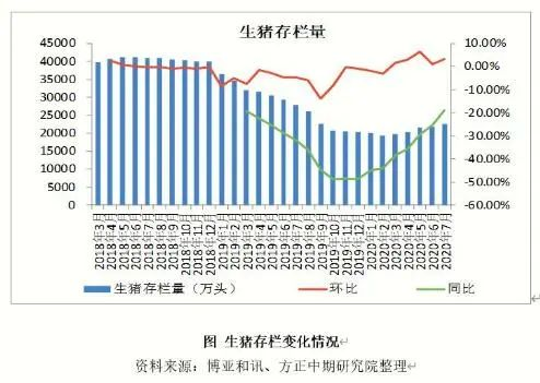 大数据告诉您:8月猪价维持高位!